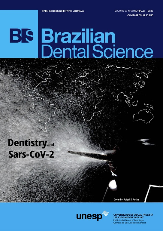 View Vol. 23 No. 2 (2020): SUPP. 2 - Dentistry and Sars-CoV-2